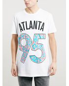 Topman Oversized Fit Atlanta T-Shirt - Lyst