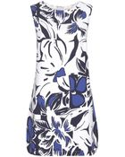 Vanessa Bruno Printed Dress - Lyst