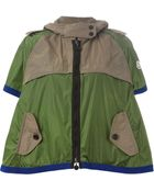 Moncler Colour-Blocked A-Line Jacket - Lyst