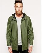 Rains Short Waterproof Jacket - Lyst