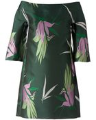 Marni Flower Print Dress - Lyst