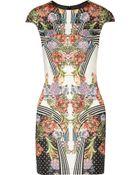 Just Cavalli Printed Stretch-Jersey Dress - Lyst