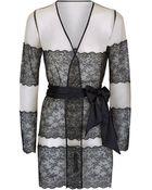 Myla Tullia Short Robe - Lyst