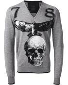 Philipp Plein 'Glory' Sweater - Lyst