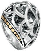 John Hardy Naga Twotone Dome Ring - Lyst