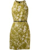 Jason Wu Palm Print Dress - Lyst
