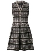 Proenza Schouler Tweed Flared Dress - Lyst