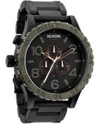 Nixon Stainless Steel Chronograph Watch - Lyst