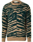 Marc Jacobs Cashmere-Wool Zebra Print Pullover - Lyst