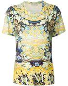 Mary Katrantzou 'Calligraphy' T-Shirt - Lyst