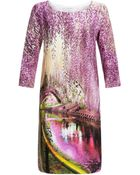 Mary Katrantzou Shift Dress Underwood - Lyst