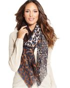 Collection Xiix Scaled Leopard Wrap - Lyst