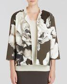 Lafayette 148 New York Anne Floral Print Jacket - Lyst