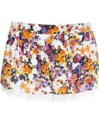 River Island White Blossom Print Shorts - Lyst