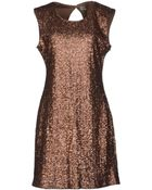 Deby Debo Short Dress - Lyst