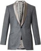 Richard James Satin-Lapel Wool Blazer - Lyst