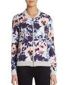 Townsen Floral Printed Bomber Jacket - Lyst
