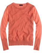 J.Crew Summerweight Cotton Sweater - Lyst