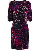 Coast Rivy Print Dress - Lyst