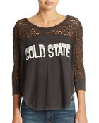 Free People Racer Graphic Tee - Lyst