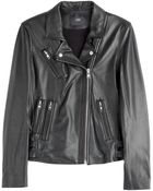 Steffen Schraut Vintage Leather Biker Jacket - Lyst