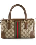 Gucci Vintage Monogram Webbed Bag - Lyst