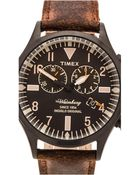 Timex® The Waterbury Chrono - Lyst