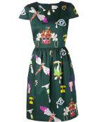 Mary Katrantzou 'Julie' Print Dress - Lyst