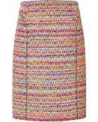 Nina Ricci Tweed Skirt - Lyst