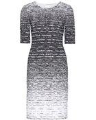 Oscar de la Renta Bouclé Dress - Lyst