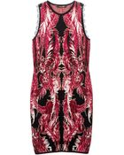 Roberto Cavalli Patterned Dress - Lyst