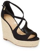 Saks Fifth Avenue Melody Espadrille Wedge Sandals - Lyst