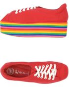 Jeffrey Campbell Multicolour Wedge Sneakers - Lyst