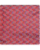 Armani Geometric Diamond Silk Pocket Square - For Men - Lyst