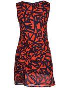 Cutie Short Dress - Lyst