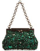 Dolce & Gabbana Sara Crystal-Embellished Bag - Lyst