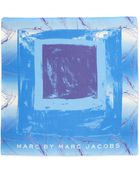 Marc By Marc Jacobs Milky Block Square Scarf - Lyst