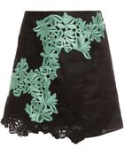 3.1 Phillip Lim Organza With Lace Skirt - Lyst