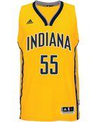 Adidas Men'S Roy Hibbert Indiana Pacers Swingman Jersey - Lyst