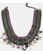 Coach Multi Charm Necklace - Lyst