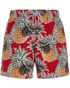 Vilebrequin Moorea Pineapple Swim Shorts - Lyst