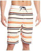 Tommy Hilfiger Remington Striped Boardshort - Lyst