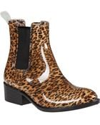 Jeffrey Campbell Stormy Rain Boot Cheetah Rubber - Lyst