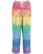 Ashish Sequinned Trousers - Lyst