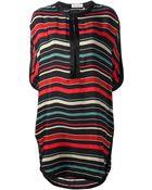 Etoile Isabel Marant Striped Dress - Lyst
