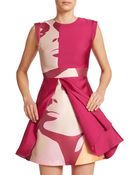 Raoul Raine Colorblock Dress - Lyst