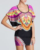 Trina Turk Nuevo Sol Tunic Swim Cover Up - Lyst