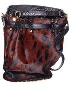 Alexander Wang Leopard Haze Diego Bucket Bag - Lyst