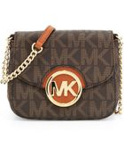 MICHAEL Michael Kors Small Fulton Logo Crossbody Bag - Lyst
