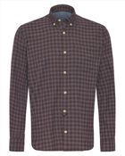 Jaeger Flannel Check Shirt - Lyst
